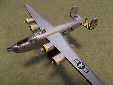 Built 1/100: American CONSOLIDATED B-24J LIBERATOR Bomber Aircraft