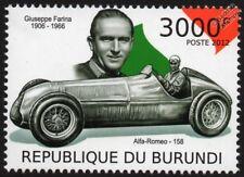 ALFA ROMEO Type 158 Alfetta & Giuseppe Nino Farina F1 GP Race / Racing Car Stamp
