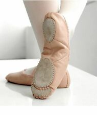 Leather Ballet Dance Shoes Professional Soft Women Split Sole Latex Beginners