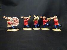 Royal Doulton Bunnykins 1984 Oompah Band Golden Jubilee