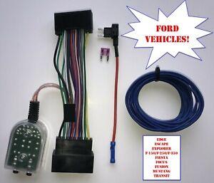Add An Amp Amplifier Adapter Interface Explorer F150 F250 Fiesta Fusion Mustang