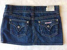 New w/Tag Women's Hudson Medium Blue Denim Skirt Size: 30