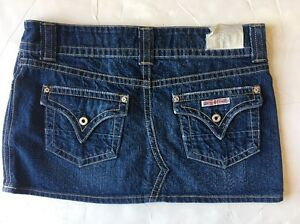 New w/Tag Women's Hudson Medium Blue Denim Skirt Size: 29