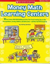 Money Math Learning Centers by Shirley Barvlich