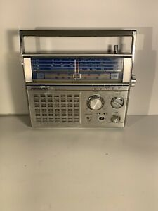 Soundesign 2667-(B) Weather Portable Radio AM/FM/TV-1/TV-2/AIR/POLICE/PB