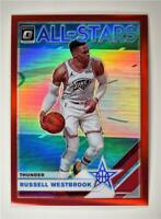 2019-20 Donruss Optic All-Stars Red #8 Russell Westbrook /99 Thunder