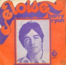 BARRY RYAN 45 TOURS FRANCE ELOISE (CLAUDE FRANCOIS)