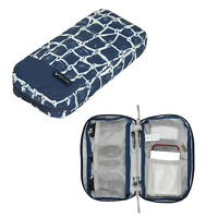 Waterproof Travel Storage Bag Cable Organizer Case for USB Cord Phone Earphone