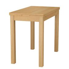 IKEA BJURSTA Ausziehtisch Eichenfurnier (50/70/90x90) Tisch Küchentisch Esstisch