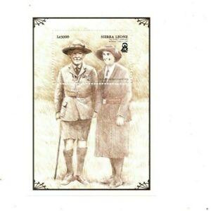 VINTAGE CLASSICS - Sierra Leone 2139 - Boy Scouts - Souvenir Sheet - MNH