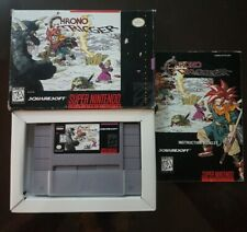 Chrono Trigger COMPLETE Super Nintendo SNES CIB - No Maps. Good Condition