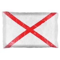 Alabama Vintage Distressed State Flag Pillow Case