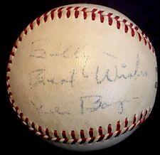 RARE Ken Boyer died 1982 JSA LOA Signed Baseball HOF 1964 St Louis Cardinals