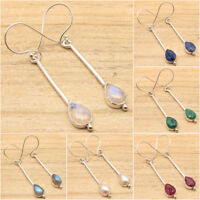 925 Silver Plated Handcrafted Earrings, Highly Polished Fashion Jewelry
