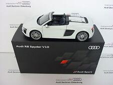 Original Audi Maquette De Voiture Audi R8 Spyder V10 Suzukagrau 1:18, Audi Sport