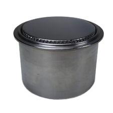 Mini Chrom Aluminium Pop Up Tankdeckel plus Einsatz für Motorrad Benzintanks