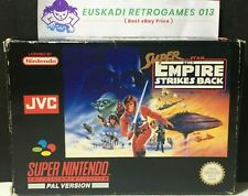 Super Star Wars : The Empire Strikes Back // SNES - Completo PAL España // JVC