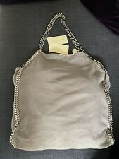 FALABELLA SHAGGY DEER SHOULDER BAG STELLA McCARTNEY Grey. ORIGINALE 100%