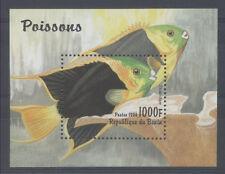 POISSON Bénin 1 bloc de 1996 ** FISH FISCH PESCE