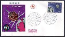 MONACO FDC 1965 - CENTENAIRE DE L'UIT 664 - pn10