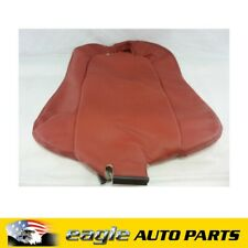 HOLDEN MONARO LHF SEAT BACK COVER RED HOT # 92147448
