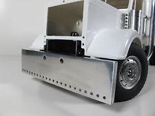 Custom Aluminum Front Bumper 18cm w/ predrill hole Tamiya 1/14 Semi Globe Liner
