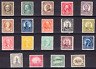 US Scott 551-569 old 1/2c-30c perf 11 regular issue stamps M/H/NH/OG/VF CV $330