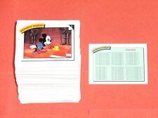 1991 DISNEY COLLECTOR CARDS 210 BASE Set Cartoon MICKEY MOUSE MINNIE DONALD!
