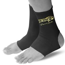 Ankle support Brace Leg Arthritis Injury Gym yoga Elastic sleeve Bandage (PAIR)