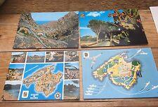 Job Lot Of Four Vintage Post Cards/Spain/Mallorca/1980's/Retro