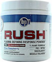 BPI SPORTS RUSH 30 servings Professional pump formula Rapid vascular enhancher