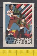 Vignette Mustermesse 1933 Ljubljana** Mednarodni Velesejem v Ljubljani Slowenien