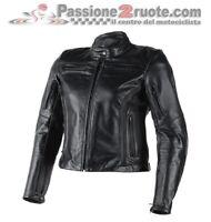 Dainese Nikita lady black moto leather jacket