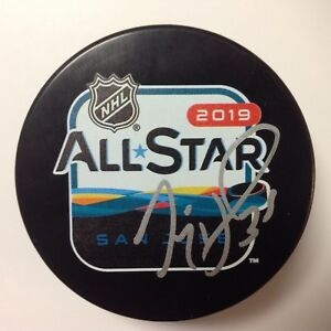 Jimmy Howard Signed Autographed 2019 NHL All Star All-Star Hockey Puck a
