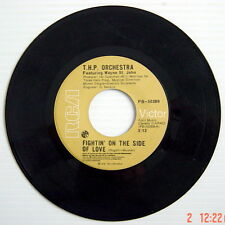 1976'S 45 R.P.M. RECORD, T.H.P. ORCHESTRA, FIGHTIN' ON THE SIDE OF LOVE + FIGHTI