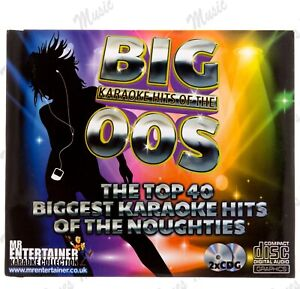 Mr Entertainer: Big Karaoke Hits of the 00's CDG 2 Discs 40 Songs *FAST DELIVERY