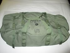 NEW Style US MILITARY ISSUE  DUFFLE BAG WITH ZIPPER  Travel or Camping  Bag