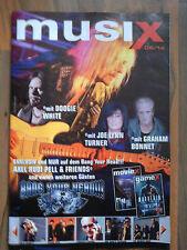 Musix 06/2014 rivista Axel Rudi Pell Guano convincerci Rod Stewart Ten Years After A.O