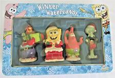 Kurt Adler Nickelodeon SpongeBob Squarepants Winter Waterland Ornament Set