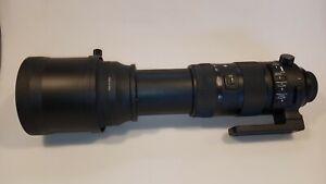 Sigma 150-600mm F/5-6.3 DG OS HSM Sports Telephoto Lens for Nikon F - Black