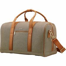 Hartmann Herringbone Deluxe Weekend Duffel Carry On Luggage