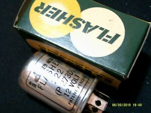 IDEAL Flasher 12 Volts #222 NEW AMC JEEP KAISER RAT ROD LEADSLED 3 PRONG