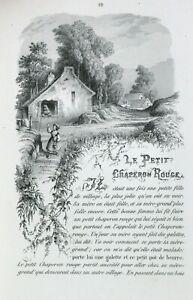 RARE Contes de PERRAULT WALCKENAER illustré Bibliophile Jacob contes fées curmer