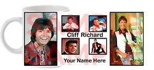 Personalised Cliff Richard Tea Coffee Mug - Your Name added Free
