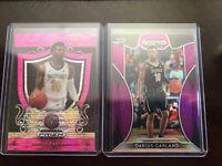 2019-20 Panini Prizm Draft Pink  Darius Garland Rookie #288 Cleveland Cavaliers