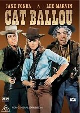 Cat Ballou (Jane Fonda) DVD Region 4 VG Condition