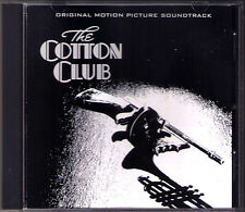 THE COTTON CLUB John Barry OST Soundtrack CD Bob Wilber Francis Ford Coppola NEU
