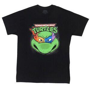 Teenage Mutant Ninja Turtles Face TMNT Licensed Adult T-Shirt