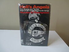 HELL'S ANGELS by Hunter S. Thompson -  1st/2nd  HCDJ 1967  - $4.94