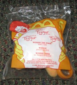 2000 The Tigger Movie McDonalds Happy Meal Toy - Winnie the Pooh Clip #5